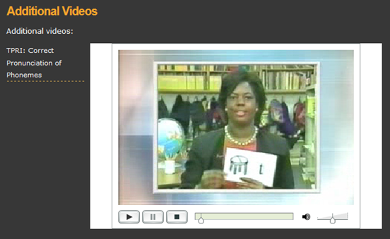 Phoneme Production Video